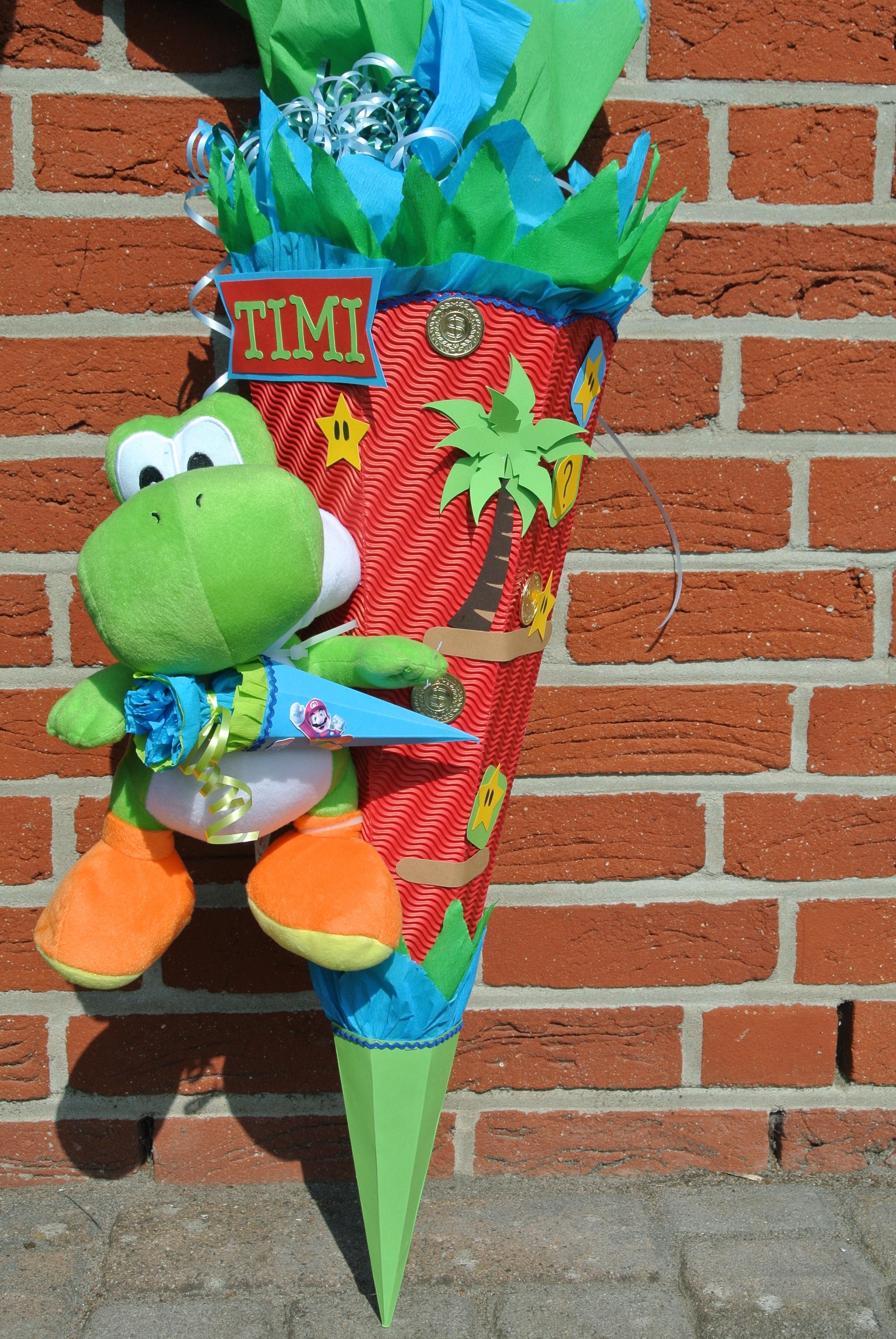 selbstgebastelte Schultüte für Jungs   design Schultüten