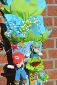 selbstgebastelte Super Mario Schultüte 5