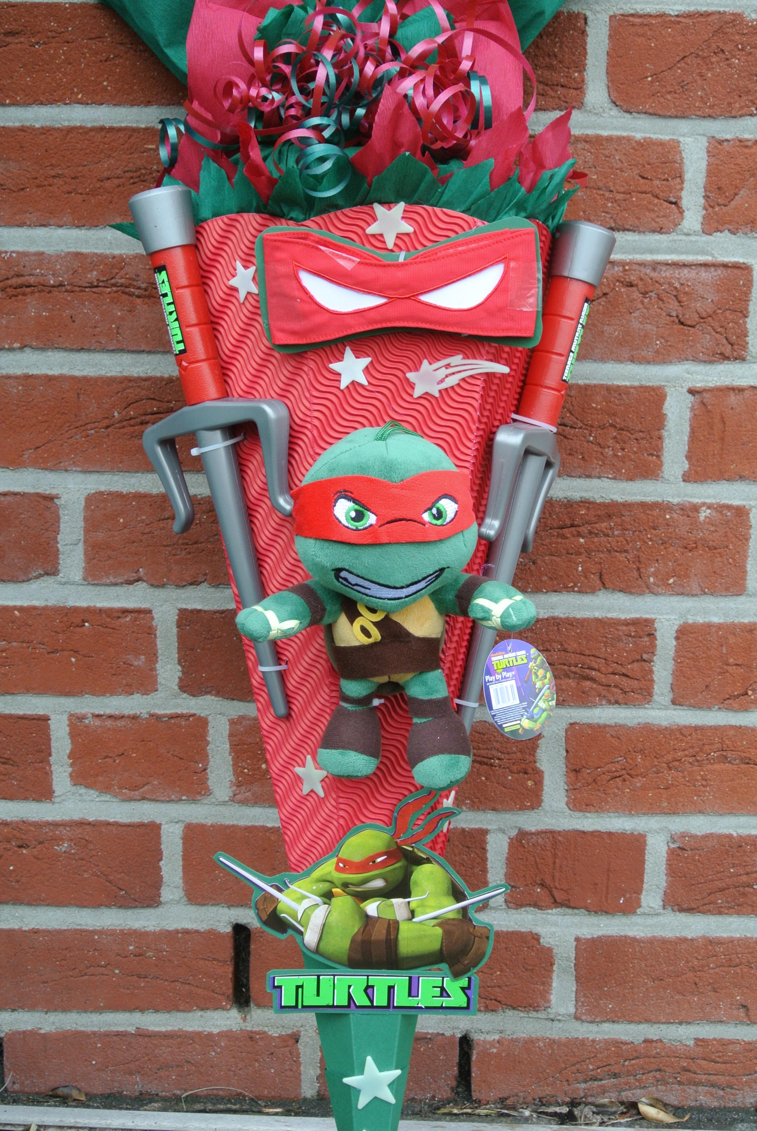 Ninja Turtle An Gebastelte Schultüte Design Schultüten By