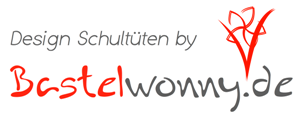 design Schultüten by  Bastelwonny.de Logo