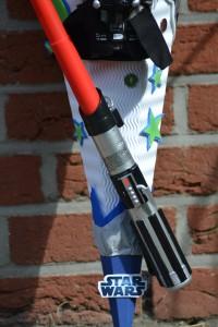 Schultüte mit Lichtschwert