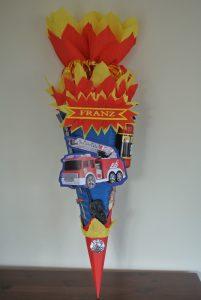 Feuerwehr Schultüte 45