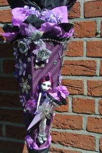 gebastelte Monster High Schultüte