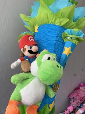 Mario und Yoshi Schultüte