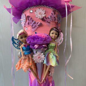 gebastelte Mädchenschultüte