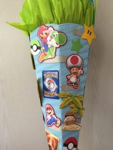 Schultüte Wunsch Pokemon Fußball Super Mario
